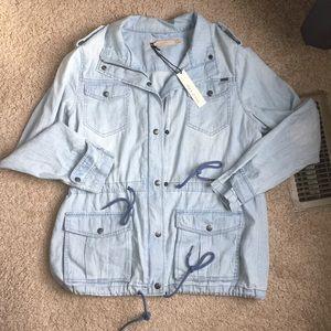 Max Jeans Cloud Wash Jean Jacket